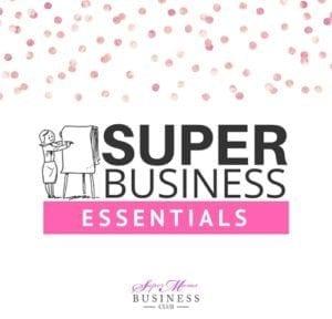 Super Business Essentials Course: Suzannah Butcher